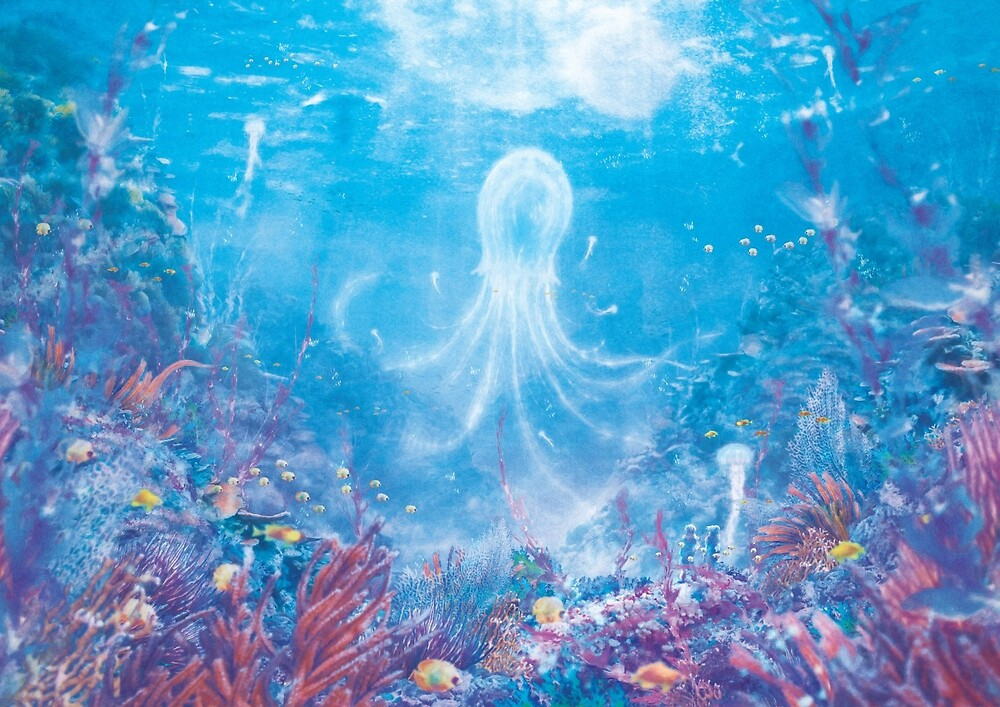 Jellyfish Sea (Only 50!) by orioto