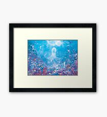 Jellyfish Sea  Framed Print