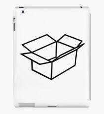 Cardboard box iPad Case/Skin