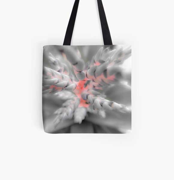 Bromeliad All Over Print Tote Bag