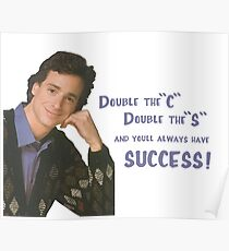Danny Tanner teaches mnemonic devices! Poster