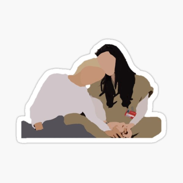Alex et Piper Sticker