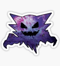 Shiny Haunter Stickers Redbubble