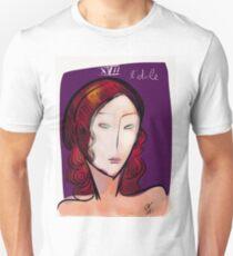 L'étoile figurative and pop portrait Unisex T-Shirt
