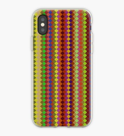 Retro Stripes by Julie Everhart iPhone Case