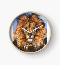 The King of Lions Clock