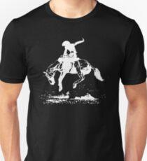 Rodeo Bucking Horse Cowboy Riding Stallion T-Shirt
