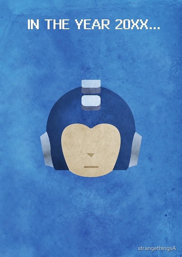 The Blue Bomber by strangethingsA