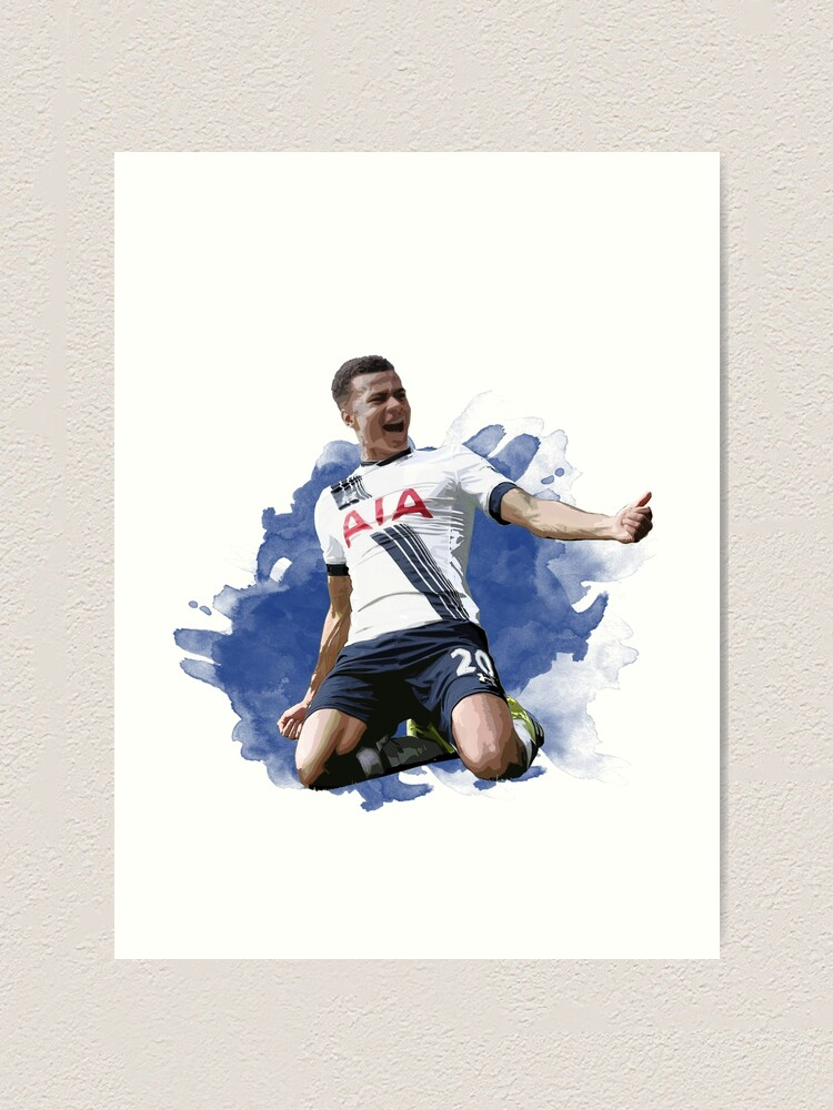 Football  Tottenham/'s Players Picture Print on Framed Canvas Wall Art Home Decor