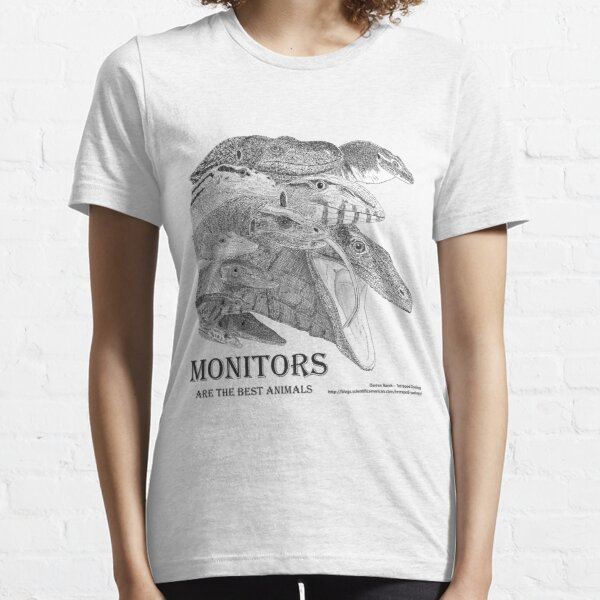 Monitors are the best animals Essential T-Shirt