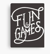 Fun and Games Canvas Print