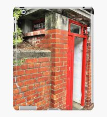 Public Telephone Booth iPad Case/Skin