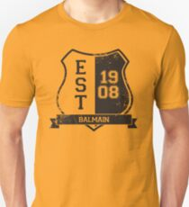 Balmain Rugby League: Established Shield Unisex T-Shirt