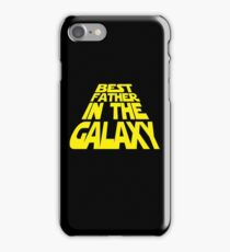 Best Father in the Galaxy iPhone Case/Skin