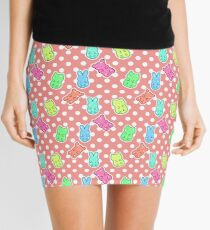 Gummy Animals Pattern Mini Skirt