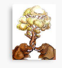 Baobab Fusion Lienzo metálico