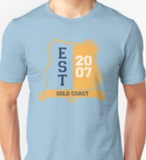 Gold Coast Rugby League: Established Shield Unisex T-Shirt