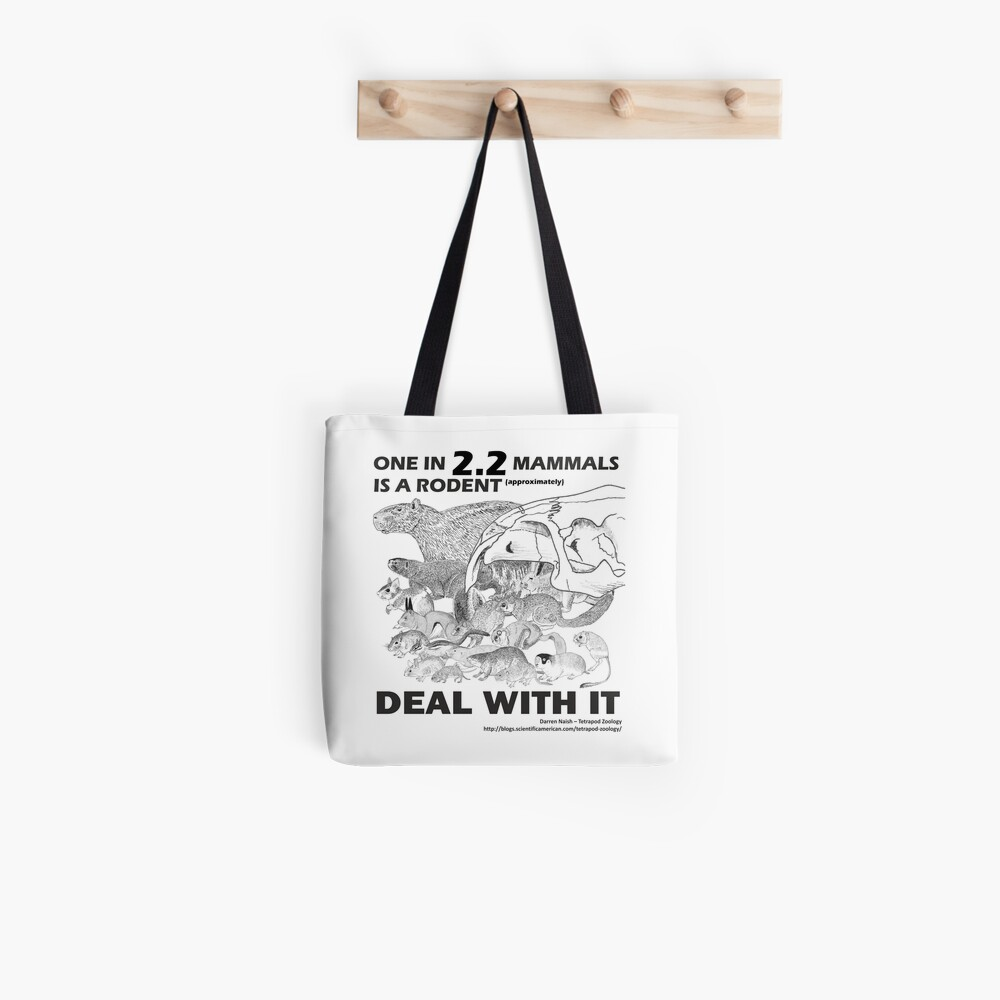 There are a lot of rodents Tote Bag