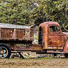 Dump Truck of Yore /Terrebonne by Richard Bozarth