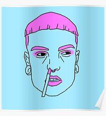 schwuler Kopf Poster