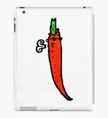 cartoon chili pepper iPad Case/Skin