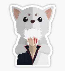 Gintama - Gintoki & Sadaharu Sticker