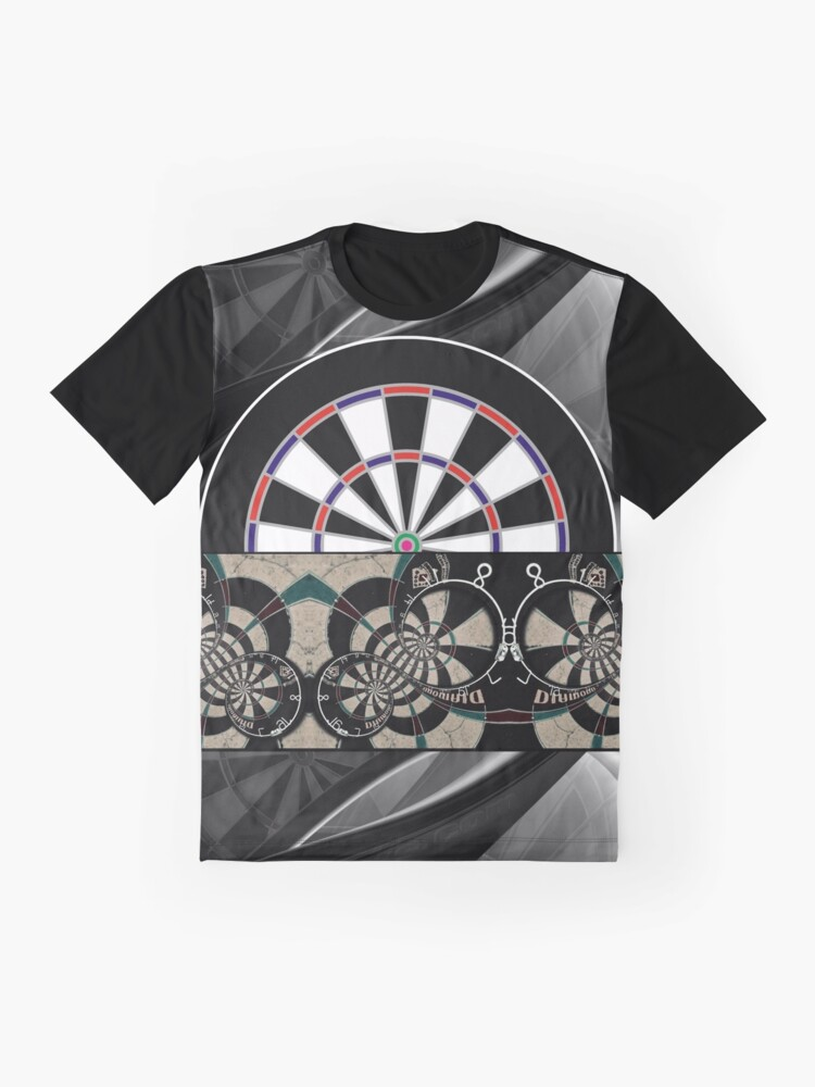 Alternate view of Abstract Darts Shirt Graphic T-Shirt