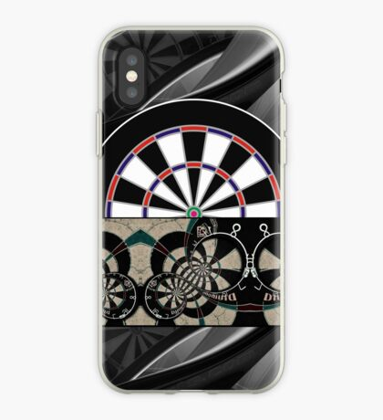 Abstract Darts Shirt iPhone Case