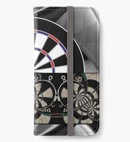 Abstract Darts Shirt iPhone Wallet