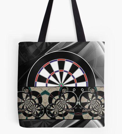 Abstract Darts Shirt Tote Bag