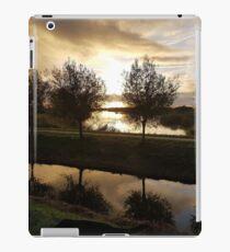 landscape trees iPad Case/Skin