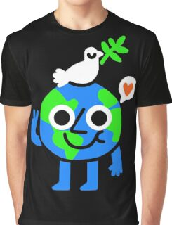 World Peace & Love T-shirt Graphique