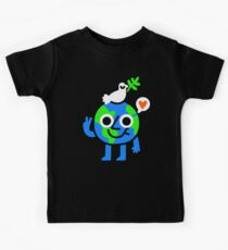 Weltfrieden & amp; Liebe Kinder T-Shirt