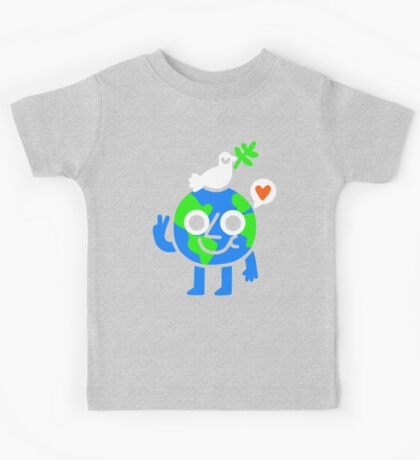 World Peace & Love Kids Clothes