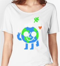 World Peace & Love Women's Relaxed Fit T-Shirt