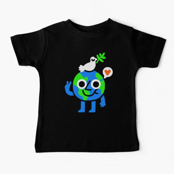 World Peace and Love Baby T-Shirt