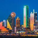 Dallas Skyline at Twilight by josephhaubert