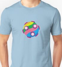 Colorful sticky rolling ball Unisex T-Shirt