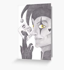 The Court Joker Greeting Card