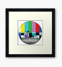 Come Watch TV - Rick and Morty Framed Print