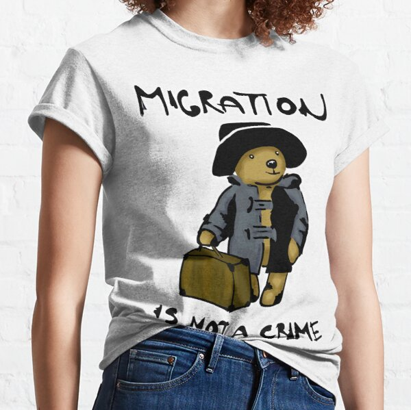 Migration is not a crime Classic T-Shirt