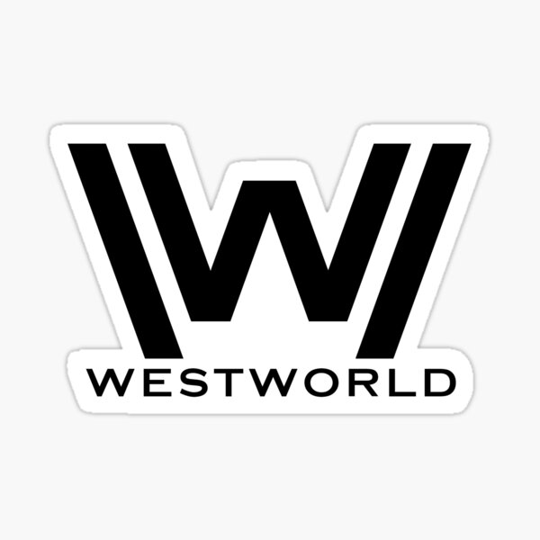 Westworld Logo - Nouveau Sticker