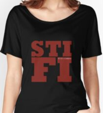 Sticky Fingers STIFI Women's Relaxed Fit T-Shirt