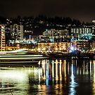 Party Barge/Portland by Richard Bozarth