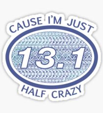 Half Marathon Sticker