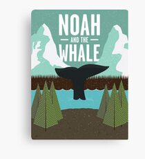 noah and the whale Canvas Print