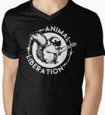 Animal liberation Men's V-Neck T-Shirt