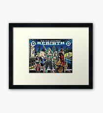 Rebirth - Green Arrow Framed Print