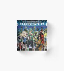 Rebirth - Green Arrow Acrylic Block
