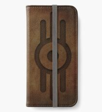 Fallout 4/Vault-Tec Worn Leather Emboss iPhone Wallet/Case/Skin